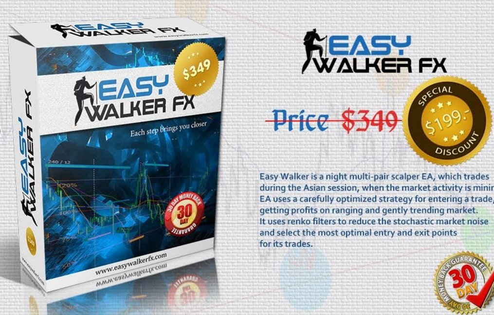 Easy Walker Fx EA Review - A Night Multi-Pair Scalper And Very Profitable Forex Expert Advisor Created By Argolab Trades During The Asian Session