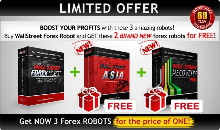 WallStreet Forex Robot Review - A Very Profitable Expert Advisor For Metatrader 4 (MT4) Platform And Low-Risk FX Trading System Created By FXAutomater Team