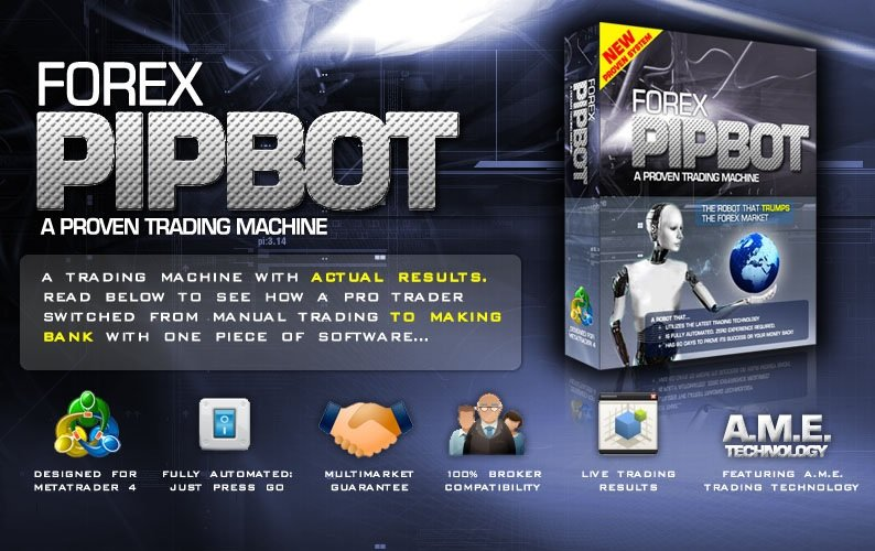 Forex Pip Bot Review - The Best Expert Advisor For Metatrader 4 (MT4) Platform And Very Reliable FX Trading Robot Created By Ethan Callaway