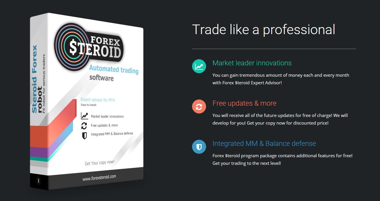 Forex Steroid EA Review - Trade Like A Professional With This Expert Advisor And FX Trading Robot