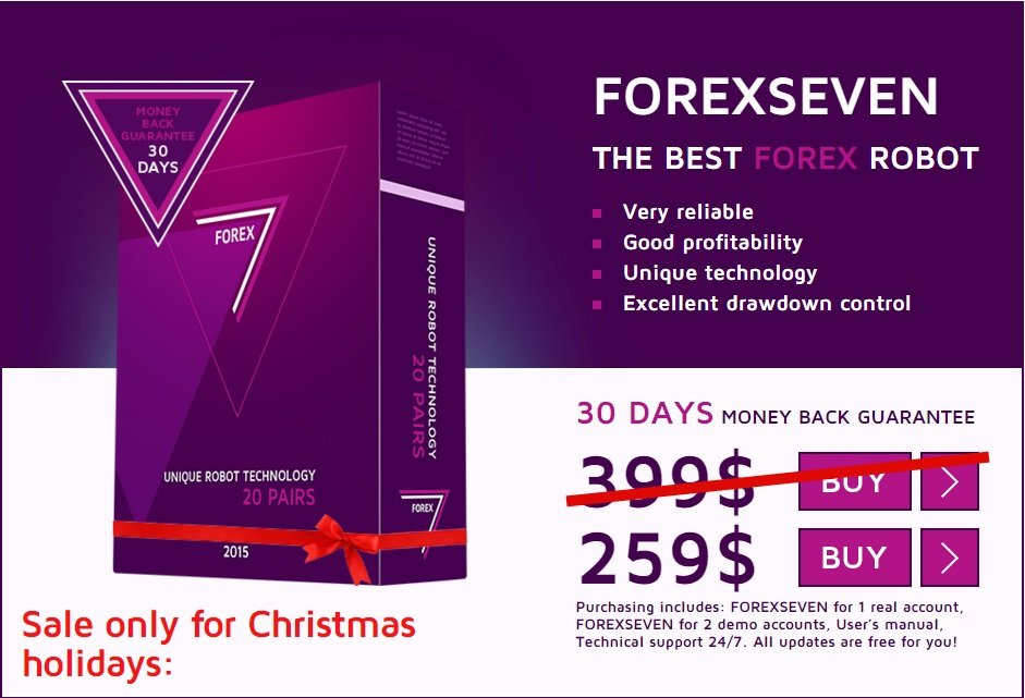 ForexSeven EA Review - This Unique Expert Advisor For Metatrader 4 (MT4) Platform And Profitable FX Trading Robot Works On 20 Currency Pairs At Once