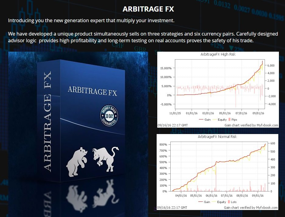 Arbitrage FX EA Review - The New Generation Grid Expert Advisor And Very Profitable Forex Robot For Metatrader 4 Platform