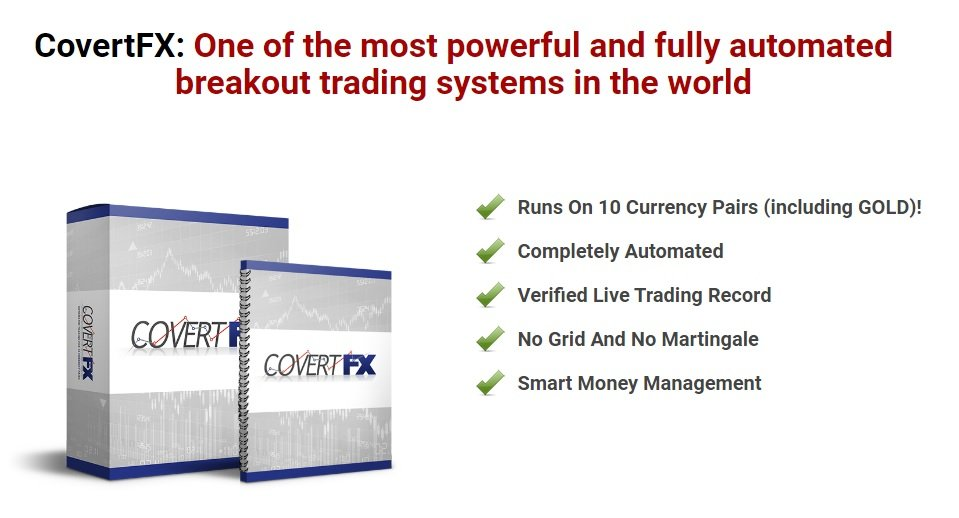 CovertFX EA Review - Best Forex Expert Advisor For Breakout Trading And Very Profitable FX Robot For Metatrader 4 Created By Professional Trader Jared Rybek