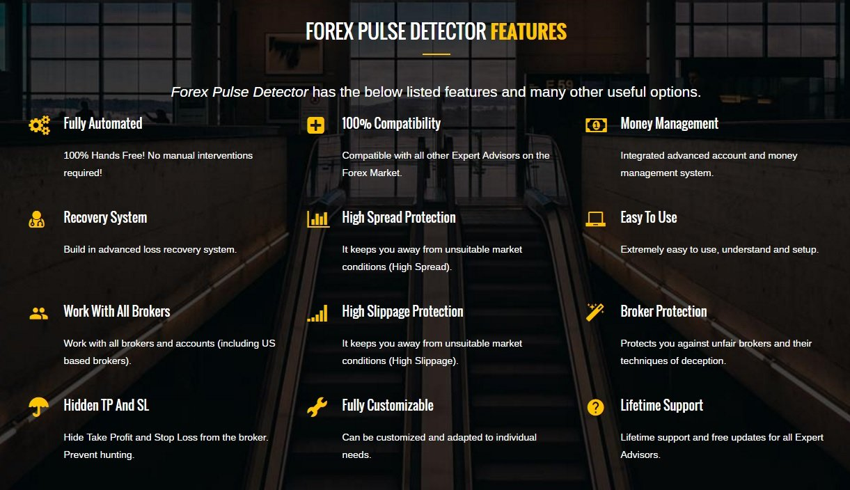 Forex Pulse Detector EA Review - Perhaps The Best Long-Term Profitable Expert Advisor And FX Robot Created By The Automated Forex Tools Team