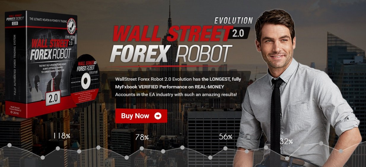 WallStreet Forex Robot 2.0 Evolution Review - Profitable Expert Advisor For Metatrader 4 With Built In Broker Protection System Created By FX Automater Team