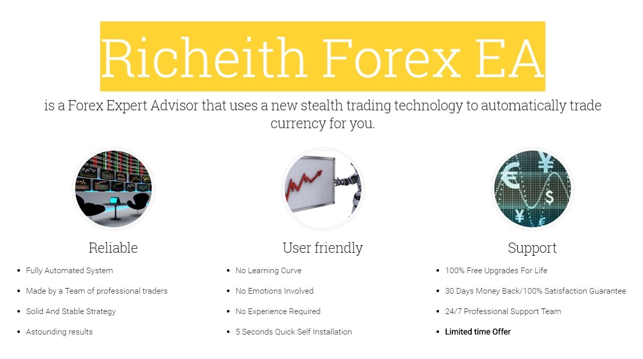 Richeith Forex EA Review - Very Profitable FX Expert Advisor For Metatrader 4 (MT4) Platform And Award Winning Forex Trading Robot 2016