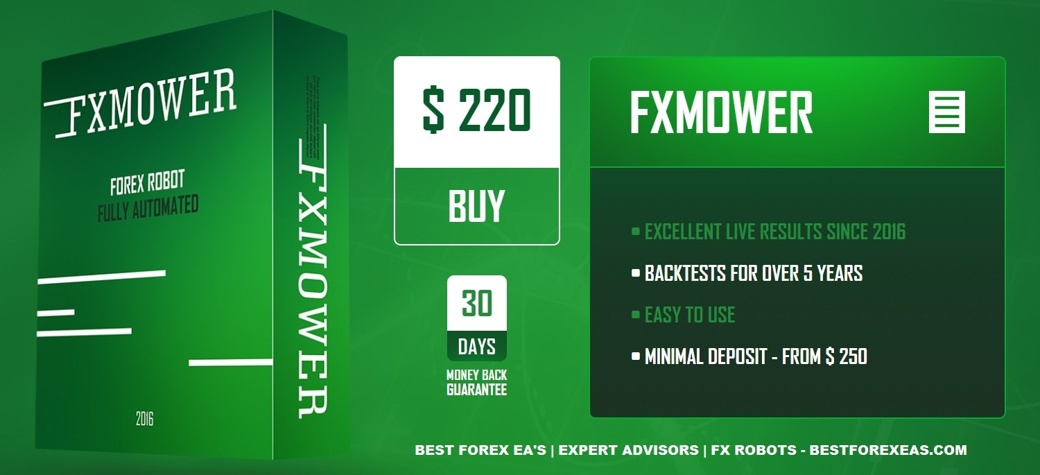 FXMower EA Review - Accurate Forex Expert Advisor For Metatrader 4 (MT4) And Reliable FX Trading Robot For Long-Term Profits Created By ForexIMBA Team