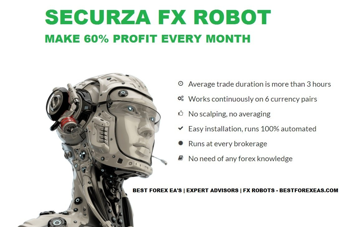 Securza FX Robot Review - Trade Like A Pro With This Forex Expert Advisor For The Metatrader 4 (MT4) Platform Created By Professional Traders