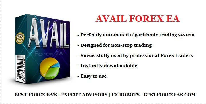 Avail Forex EA Review - Profitable FX Expert Advisor And Reliable Forex Trading Robot For The Metatrader 4 (MT4) Platform. Avail Forex EA Is Based On A Set Of Complex Algorithms That Works On EURUSD And GBPUSD Currency Pairs. You Will Get A Highly Accurate, Intelligent And Lucrative FX Robot.